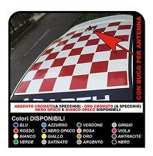 Adesivi per FIAT 500 ABARTH fasce per FIAT 500 tettino tetto assetto corse - NEW