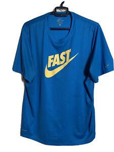 Nike 'Fast' Running T-shirt Size L RRP £20