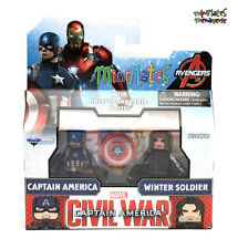 Marvel Minimates TRU Captain America Civil War Movie Cap & Winter Soldier