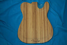 Fender Telecaster Body Shaped Bamboo Cutting Board, MPN 0094033000