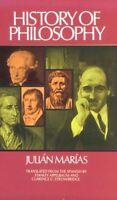 History of Philosophy (Historia de la Filosofia) by Julian Marias