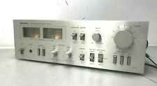 Classic Technics Stereo Integrated Amplifier SU-Z2 Hi Fi Separate Silver JAPAN