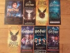 HARRY POTTER AND THE CURSED CHILD/MAKING OF/EXHIBITION/CONCERT FLYERS X 8