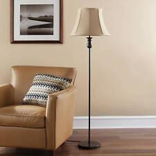 "Mainstays 51"" Floor Lamp Base Bronze Finish 3-way rotary switch"