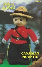 Canadian Mountie, Annie's Crochet Dolls of the World  Pattern Booklet 87L09