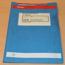 VW LT 4 Zylinder Einspritzmotor 1997 Werkstatthandbuch Reparaturleitfaden