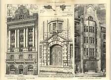 1906 Bechstein Premises Entrance 20 Conduit Street Treadwell Martin