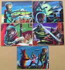 Topps Mars Attacks! Heritage - 3-Dimension Selection 5 x Lenticular Cards (2012)