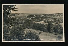 Bucks Buckinghamshire WYCOMBE from Keep Hill 1948 RP PPC Adams Studio