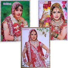 Poster 3er Set Katrina Kaif 75x50cm Bollywood Star Schauspielerin Hochglanz