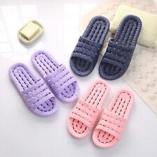 1 Pair Women Men Indoor Shower Bath Slippers Non-Slip Bathroom Sandals Shoes
