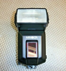 Minolta 3600HS D Wireless Shoe Mount Flash for Sony Cameras - Tested & Working!