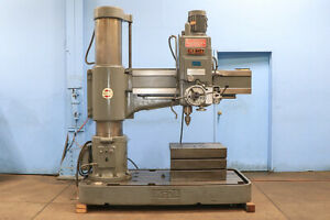 """4.5' X 13"""" MODEL: RM-1375 IKEDA RADIAL DRILL NEW: 1980"""