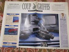 CATALOGUE AUTO : PEUGEOT : COUP DE GRIFFES EDITION EXCEPTIONNELLE 09/1993