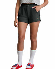 Champion Life Shorts Womens Reverse Weave C Logo Workout High Waist Tailored Fit