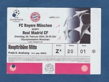 Orig.Ticket  Champions League  2003/04  BAYERN MÜNCHEN - REAL MADRID CF  !!