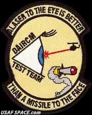 USAF 413th FLIGHT TEST SQ- DISTRIBUTED APERTURE IR COUNTERMEASURES TEAM PATCH