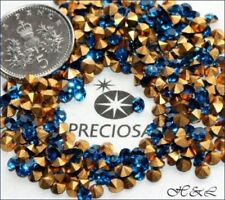 Czech Blue 3 - 3.9 mm Size Jewellery Making Craft Beads