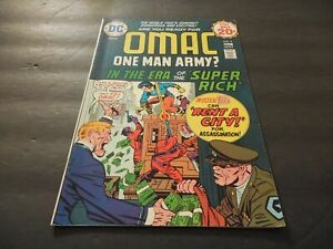Omac #2 December 1974 Bronze Age DC Comics Jack Kirby Mike Royer         ID:7268
