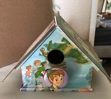 Disney's Peter Pan Little Golden Book Bird House Captain Hook Wendy