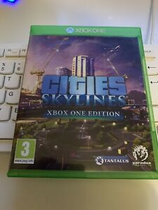 EXCELLENT   CONDITION ( CITIES SKYLINES )  XBOX ONE EDITION  GAME