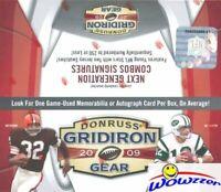 2009 Donruss Gridiron Gear Factory Sealed 24 Pack Retail Box-AUTO/MEMORABILIA