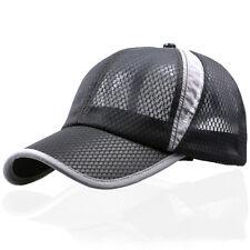 Liso Color Golf Gorra Béisbol Verano Deporte Curvo Visera Sombrero De Hombre