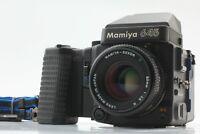 [MINT] Mamiya M645 Super AE Finder w/ Sekor C 80mm F2.8 Lens From Japan #459