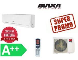 Condizionatore Climatizzatore 12000 BTU Maxa ECO PLUS 2DC INVERTER GAS R32 NEW20