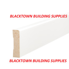 Pencil Round Skirting 90 x 11 - Pine F/J - Primed - 5.4M - Finger Joint