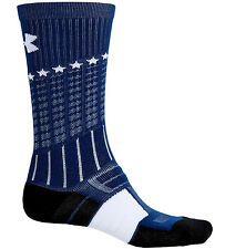 Under Armour UA Unrivaled Performance Fiber Crew Socks MEDIUM Wicking Anti-Odor