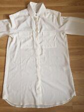 Hermosa Rag & Bone New York Seda Camisa De Mujer Talla Pequeña Rrp £ 375