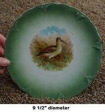 Antique Decorative Game Bird Plate - Petrus Regout & Co. of Maastricht Holland