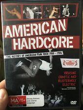American Hardcore - The History Of Punk Rock 1980-1986 region 4 DVD (music)