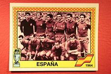 Panini EURO 88 N. 7 ESPANA TEAM NEW WITH BLACK BACK VERY GOOD MINT CONDITION!!