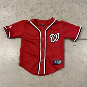 MLB Washington Nationals #34 Bryce Harper Red Alternate Jersey Toddler Size 2T
