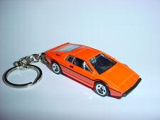 NEW 3D LOTUS ESPIRIT S1 CUSTOM KEYCHAIN keyring keyOrange racing finish 007 spy