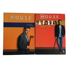 Dr House MD DVD Set Seasons 2 and 3 Like New