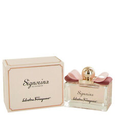 Signorina By Salvatore Ferragamo 3.4oz/100ml Edp Spray For Women New In Box