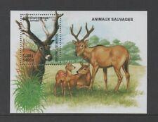 CAMBODIA 1999 MAMMALS (Pere David's deer) M/SHEET *VF MNH*