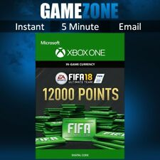 FIFA 18 Ultimate Team - 12000 FIFA Points - Xbox One - FUT Points Code - 2018