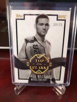 Chris Weidman SILVER Parallel #10/25 2016 Topps UFC Top of the Class