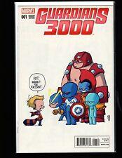 Guardians 3000 #1 Skottie Young Variant NM