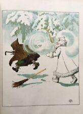 Elsa Beskow. Bilderbuch. - Jiríckův zimní výlet. 1908