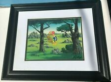 "Woody Woodpecker Animation Golf Cel ""In The Rough"" signed Walter Lantz Framed"