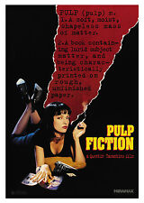 Pulp Fiction Crime & Thrillers Film Posters