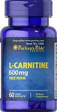L-Carnitine 500 mg x 60 Capsules ** AMAZING PRICE **