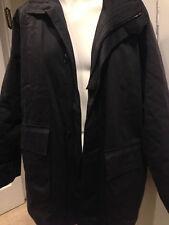 BLACK HUGO BOSS JACKET/VESTE COAT!!!! SIZE 54!!! RC