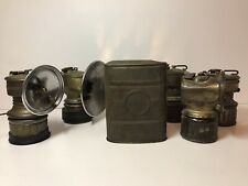 Vintage Lot JUSTRITE, Butterfly Miner Lanterns And JUSTRITE can Made In USA