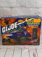 2000 G.I. Joe Cobra H.I.S.S. High Speed Sentry & RIP IT Figure MISB 57758